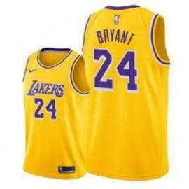 Camiseta Kobe Bryant #24 Los Angeles Lakers 18/19 Amarillo Icon Edition