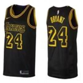 Camiseta Kobe Bryant #24 Los Angeles Lakers 18/19 Negro City Edition