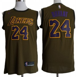 Camiseta Kobe Bryant #24 Los Angeles Lakers 18/19 Verde City Edition