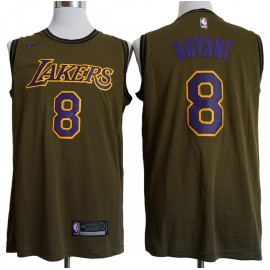 Camiseta Kobe Bryant #8 Los Angeles Lakers 18/19 Verde City Edition