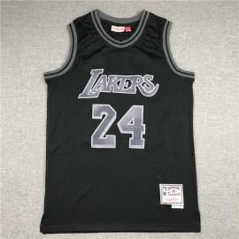 Camiseta Kobe Bryant #24 Los Angeles Lakers Negro Classic Edition