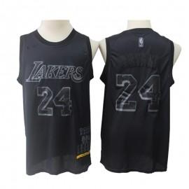 Camiseta Kobe Bryant #24 Los Angeles Lakers 2019 Negro MVP Edition