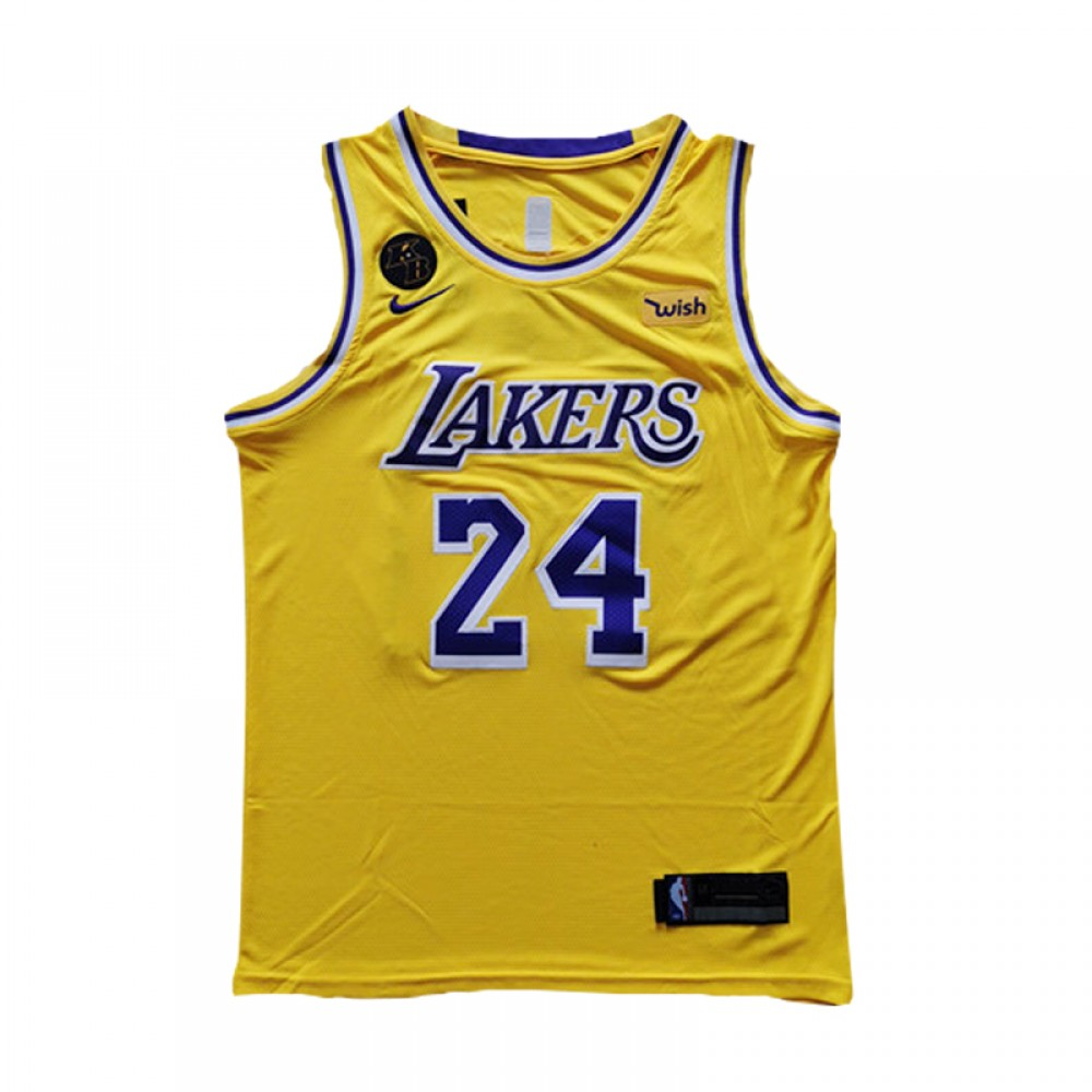 Camiseta Kobe Bryant #24 Los Angeles Lakers Amarillo Memorial Edition
