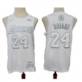 Camiseta Kobe Bryant #24 Los Angeles Lakers Blanco MVP Edition