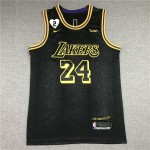 Camiseta Kobe Bryant #24 Los Angeles Lakers Negro