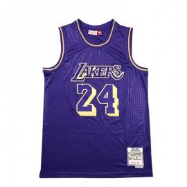Camiseta Kobe Bryant #24 Los Angeles Lakers Púrpura Mouse Limited Edition