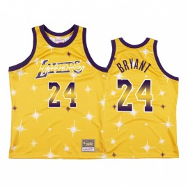 Camiseta Kobe Bryant #24 Los Angeles Lakers Amarillo Star Edition