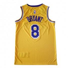 Camiseta Kobe Bryant #8 Los Angeles Lakers Amarillo Memorial Edition