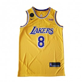 Camiseta Kobe Bryant #8 Los Angeles Lakers Amarillo Memorial Edition