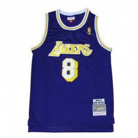 Camiseta Kobe Bryant #8 Los Angeles Lakers Púrpura Icon Edition