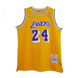 Camiseta Kobe Bryant Amarillo Mitchell & Ness 60th Anniversary Honor Edition
