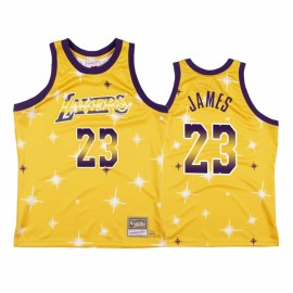 Camiseta LeBron James #23 Los Angeles Lakers Amarillo Star Edition