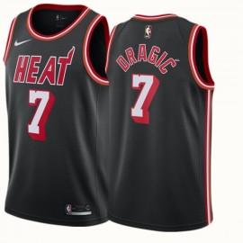 Camiseta Goran Dragić #7 Miami Heat Negro Classic