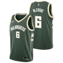 Camiseta Eric Bledsoe #6 Milwaukee Bucks 17/18 Verde Icon