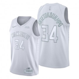 Camiseta Giannis Antetokounmpo #34 Milwaukee Bucks 2020 MVP Edition