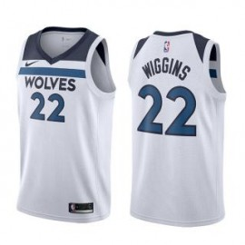 Camiseta Andrew Wiggins #22 Minnesota Timberwolves 17/18 Blanco Association