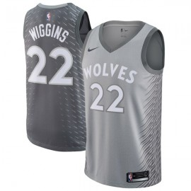 Camiseta Andrew Wiggins #22 Minnesota Timberwolves 17/18 Gris City Edition