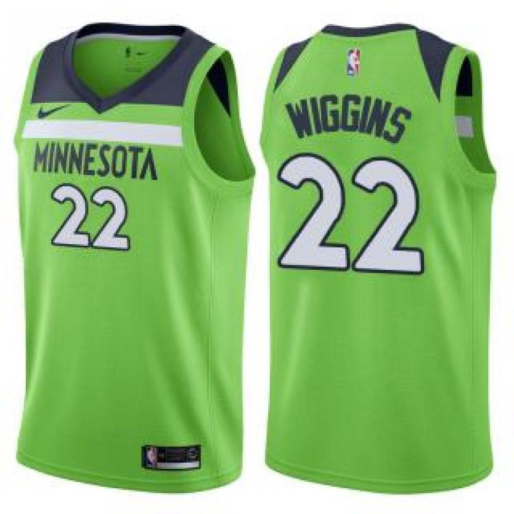 Camiseta Andrew Wiggins #22 Minnesota Timberwolves 17/18 Verde Statement