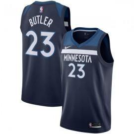 Camiseta Jimmy Butler #23 Minnesota Timberwolves 17/18 Azul Marino Icon