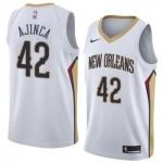 Camiseta Alexis Ajinça #42 New Orleans Pelicans 17/18 Blanco Association