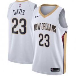 Camiseta Anthony Davis #23 New Orleans Pelicans 17/18 Blanco Association