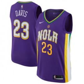 Camiseta Anthony Davis #23 New Orleans Pelicans 17/18 Púrpura City Edition