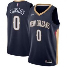 Camiseta DeMarcus Cousins #0 New Orleans Pelicans 17/18 Negro Icon