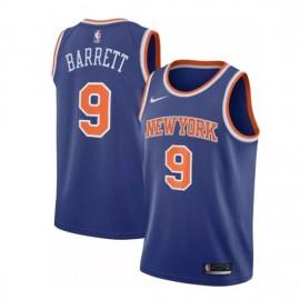 Camiseta RJ Barrett #9 New York Knicks 19/20 Azul Icon