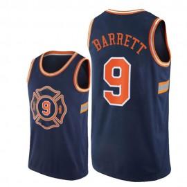 Camiseta RJ Barrett #9 New York Knicks 19/20 Azul Marino City Edition