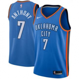Camiseta Carmelo Anthony #7 Oklahoma City Thunder 17/18 Azul Icon