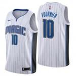 Camiseta Evan Fournier #10 Orlando Magic 17/18 Blanco Association Edition