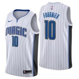 Camiseta Evan Fournier #10 Orlando Magic 17/18 Blanco Association Edition
