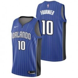 Camiseta Evan Fournier #10 Orlando Magic 17/18 Azul Icon Edition