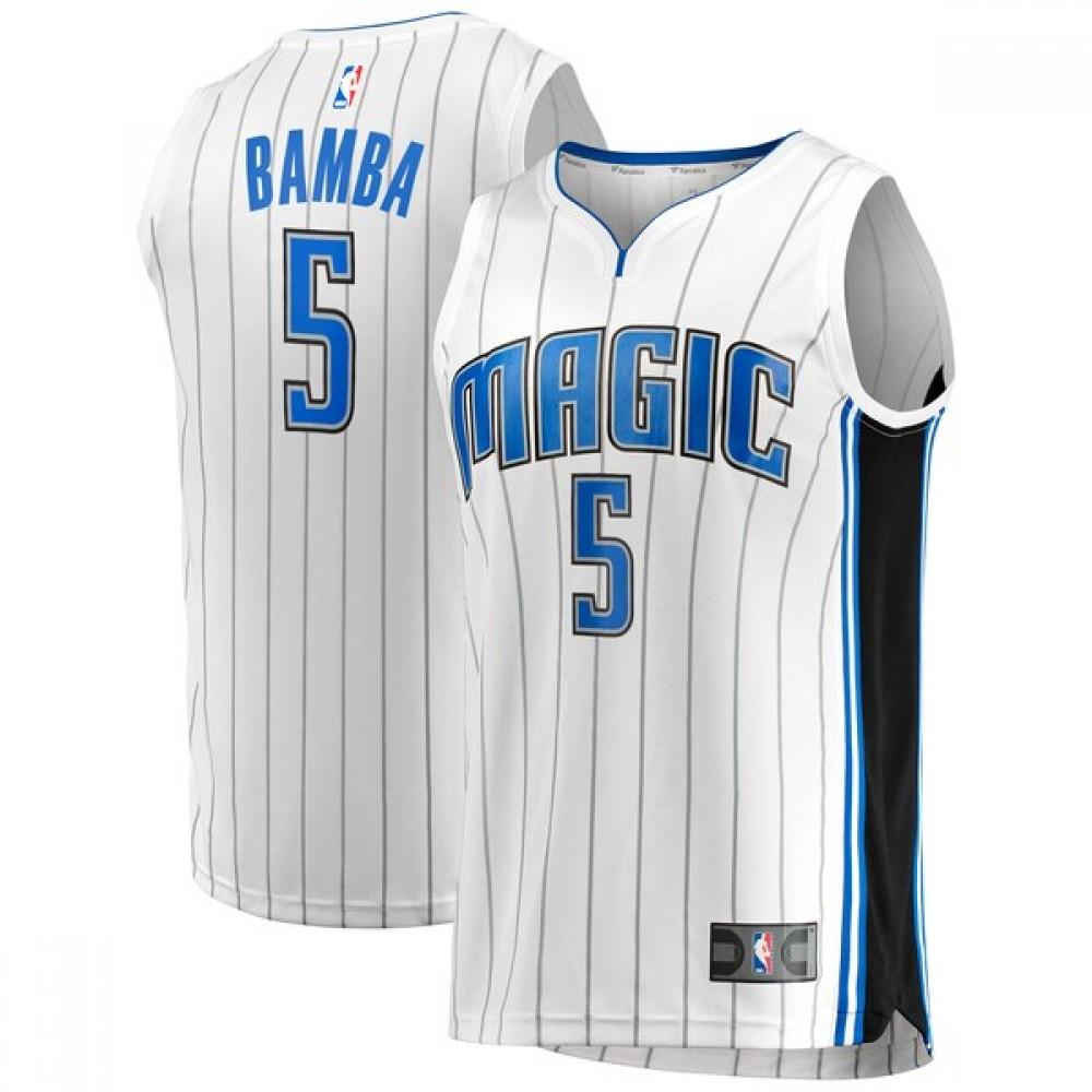 Camiseta Mohamed Bamba #5 Orlando Magic 17/18 Blanco Association
