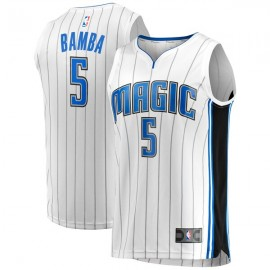 Camiseta Mohamed Bamba #5 Orlando Magic 17/18 Blanco Association