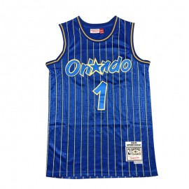 Camiseta Penny Hardaway #1 Orlando Magic Azul Mouse Limited Edition