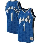 Camiseta Tracy McGrady #1 Orlando Magic 01/02 Azul Classic