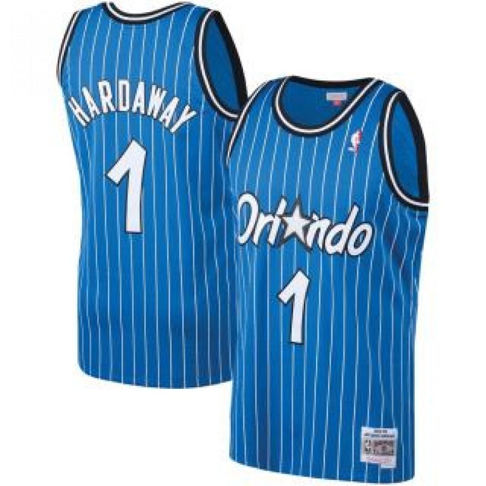 Camiseta Penny Hardaway #1 Orlando Magic 03/04 Azul Classic