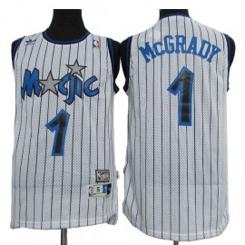 Camiseta Tracy McGrady #1 Orlando Magic 03/04 Blanco Classic