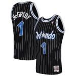 Camiseta Tracy McGrady #1 Orlando Magic 03/04 Negro Classic
