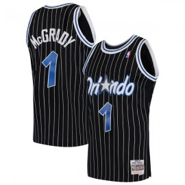 Camiseta Tracy McGrady #1 Orlando Magic 03/04 Negro Classic