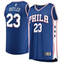 Camiseta Jimmy Butler #23 Philadelphia 76ers 17/18 Azul Icon Edition