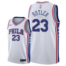 Camiseta Jimmy Butler #23 Philadelphia 76ers 17/18 Blanco Association Edition