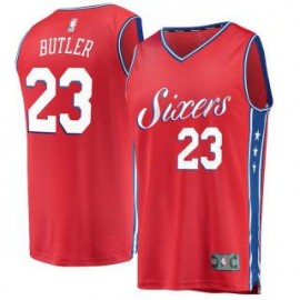 Camiseta Jimmy Butler #23 Philadelphia 76ers 17/18 Rojo Statement Edition