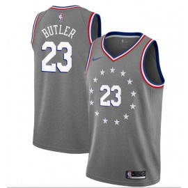 Camiseta Jimmy Butler #23 Philadelphia 76ers 18/19 Gris City Edition