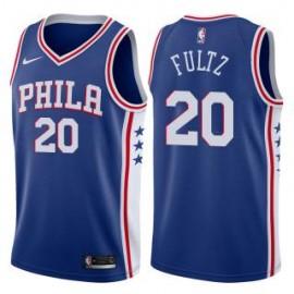 Camiseta Markelle Fultz #20 Philadelphia 76ers 17/18 Azul Icon Edition
