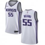 Camiseta Jason Williams #55 Sacramento Kings 18/19 Blanco Association Edition