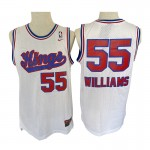 Camiseta Jason Williams #55 Sacramento Kings Blanco Classic Edition