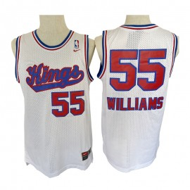 Camiseta Jason Williams #55 Sacramento Kings Blanco Classic Edition