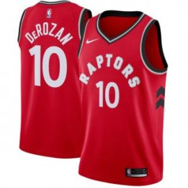 Camiseta DeMar DeRozan #10 Toronto Raptors 18/19 Rojo Icon Edition